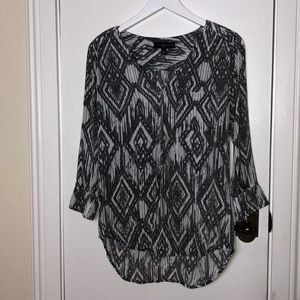 Fred David size Sm. Grey tunic top